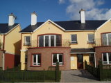 House Type A, Wolseley Court, Tullow, Co. Carlow - New Development / Group of 4 Bed Terraced Houses / €150,000