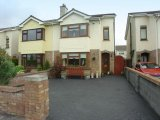 40 Rochfort Park, Lucan, West Co. Dublin - Semi-Detached House / 3 Bedrooms, 3 Bathrooms / €199,000