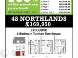 48 Northlands, Carrickfergus, Co. Antrim, BT38 8LF - Townhouse / 3 Bedrooms, 3 Bathrooms / £169,950
