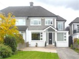 Butterfield Avemue, Rathfarnham, Dublin 14, South Dublin City - Semi-Detached House / 4 Bedrooms, 3 Bathrooms / €435,000