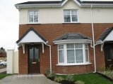 Bramble Court, Tullow, Co. Carlow - Semi-Detached House / 3 Bedrooms, 1 Bathroom / €155,000