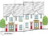 2 Bedroom Terraced, Amalfi Court, Lisnennan, Letterkenny, Co. Donegal - New Development / Group of 2 Bed Terraced Houses / €125,000
