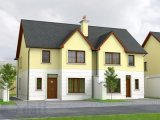House Type C, Castle Court, Whitechurch, Co. Cork - New Development / Group of 3 Bed Terraced Houses / €250,000