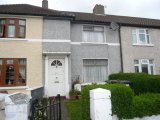 314 Mourne Road, Drimnagh, Dublin 12, South Dublin City - Terraced House / 3 Bedrooms, 1 Bathroom / €160,000