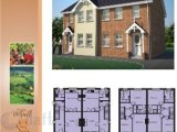 Unit 1 'site 36 & 37 Type 7', Annahugh Hill, Annahugh Hill, Ballyhagan, Loughgall, Co. Armagh - New Home / 3 Bedrooms, 2 Bathrooms, Semi-Detached House / £107,950